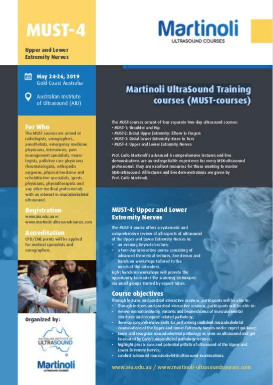 MSK Ultrasound Course: Upper & Lower Extremity Nerves